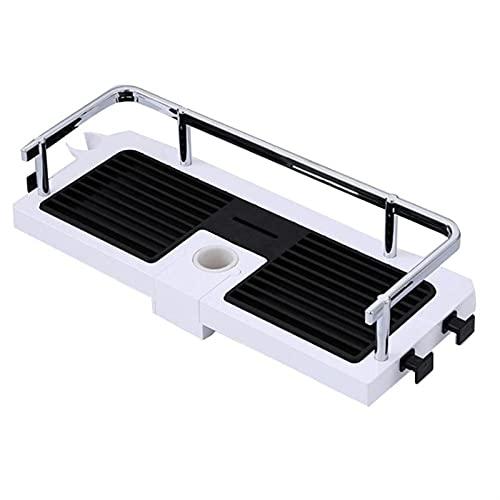 Geen Punch Bad Planken, Verstelbare badkamer plank rack opslaghouder douche drainerende organizer mand badkamer rod…
