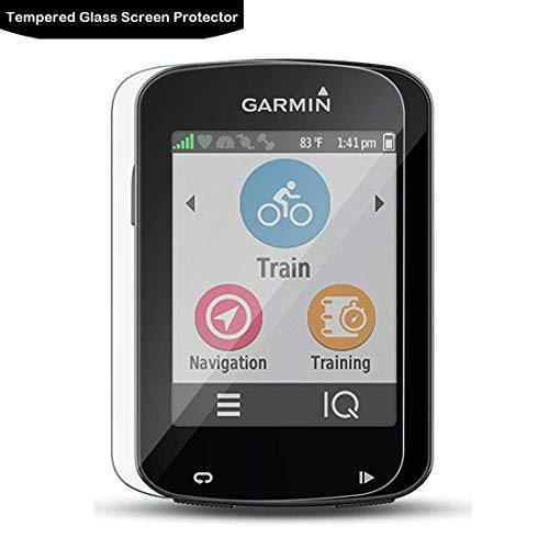 LOKEKE Protector de pantalla de cristal templado premium para Garmin Edge 830 y Garmin Edge 530 GPS