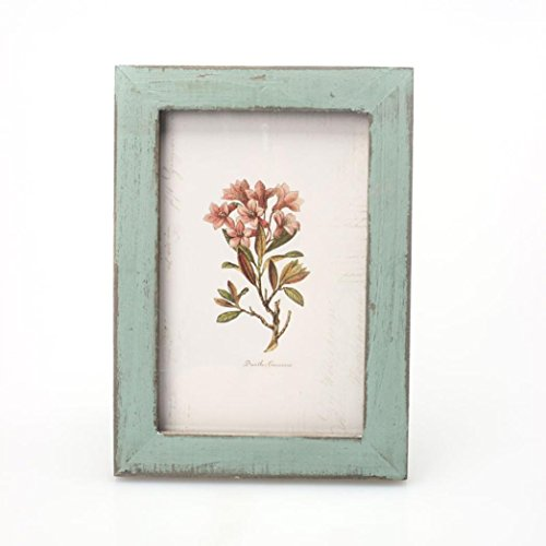 Price comparison product image Leewos InVintage Photo Frame Home Decor Wooden Wedding Casamento Pictures Frames (Green)
