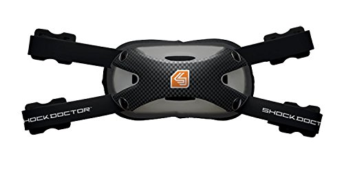 Shock Doctor Ultra Carbon Chin Strap (Large-Extra Large, Black)