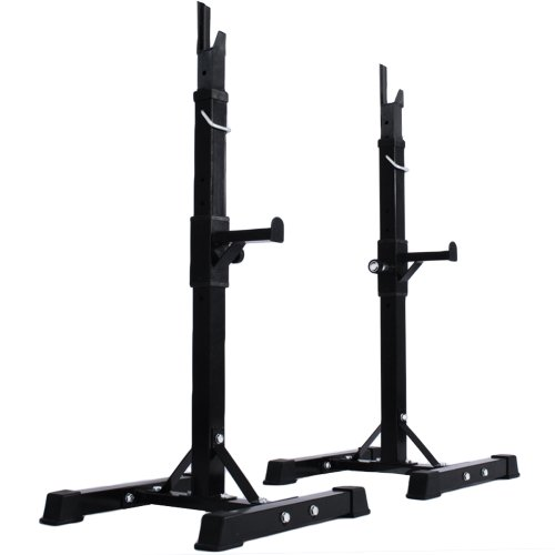 Physionics® HTAL01 Barbell Squat Rack Stand for Curl Bar