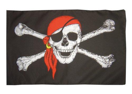 Piratenflagge 150 x 90 cm Piraten Pirates