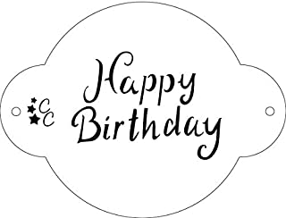 Astounding Best Happy Birthday Cake Stencil Of 2020 Top Rated Reviewed Personalised Birthday Cards Vishlily Jamesorg