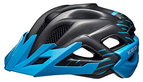 KED STATO JUNIOR 2016 bambino e dell'adolescente casco della bicicletta, helm größen:49-55 cm;Ked Farbe 2015 (+SIze):blue black matt