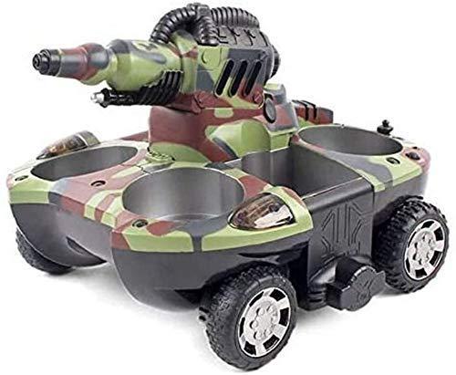 Tanque de juguete de niño 2.4Ghz RC, coches de control remoto, Bomba de Agua Anfibio orugas Tipo de metal del modelo del tanque del coche, los niños de 8 años del muchacho del tanque de juguete de reg