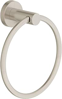 Symmons 353TR-STN Dia Wall-Mounted Towel Ring in Satin Nickel