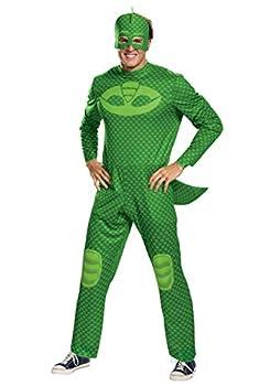 PJ Masks Adult Gekko Classic Costume X-Large Green