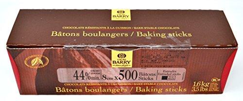 Cacao Barry - Croissant Baking Sticks mit dunkler Schokolade (500 Stück) 1,6 kg