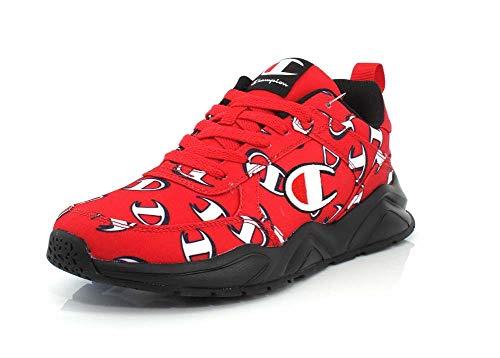 Champion Mens 93Eighteen Repeat C Red/Black Sneaker - 10