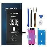 DEJIMAX Batterie Haute Capacité pour iPhone XR, 3510mAh Nouveau Remplacement de Batterie Li-ION...