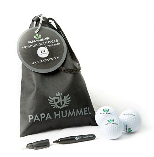 Papa Hummel STRATEGOS - 2 Layer Premium Golfbälle