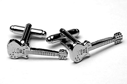 Les Paul Classic Rock elektrische gitaar manchetknopen met geschenkdoos
