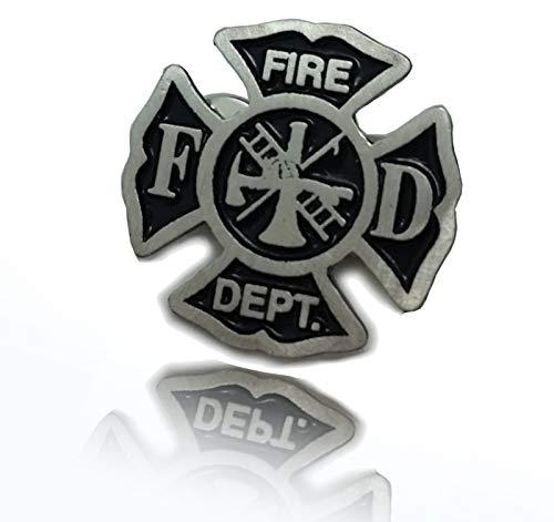 Daywalker Bikestuff Feuerwehr Fire Fighter PIN Bravest Logo Abzeichen 112 Biker MC