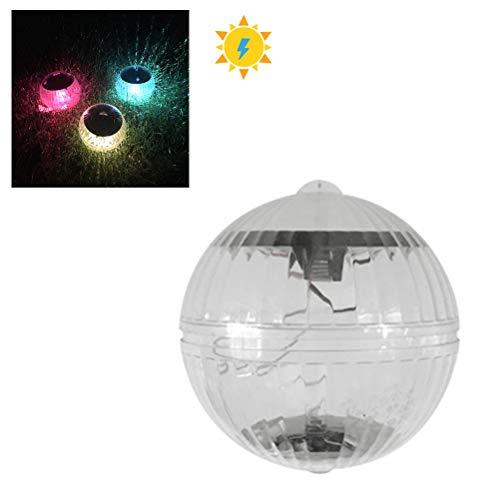 Kylewo Poolbeleuchtung Pool Licht Wasser Schwimmende Lampen Solar Schwimmkugel Wasserdicht Teichbeleuchtung Farbwechsel für Blumenvase, Pool, Teich Dekoration