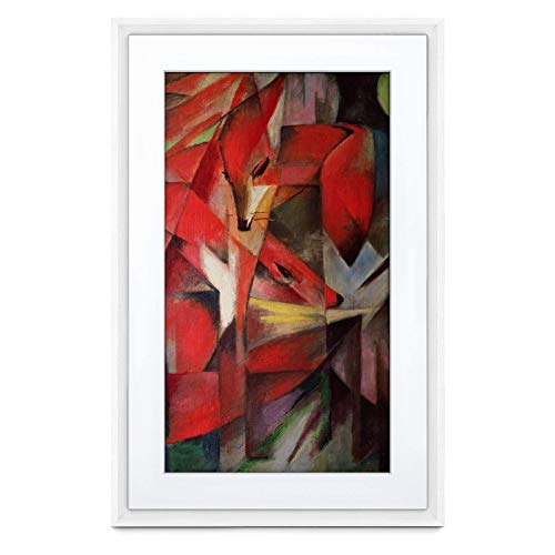 Meural Canvas II – The Smart Art Frame with 21.5 in. HD Digital Canvas That Renders Images and Photography in Lifelike Detail | 16X24 White Frame | WiFi-Connected | Powered by NETGEAR (MC321WL) Digital Frames Picture