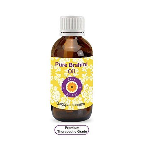 Deve Herbes Pure Brahmi Olie (Bacopa monnieri) 100% Natuurlijke Therapeutische Graad Pack of Two 2 x 100 ml
