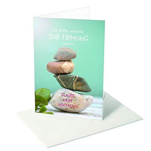 Ich wünsch dir was/Firmung/Liebe Glaube Hoffnung/Steine