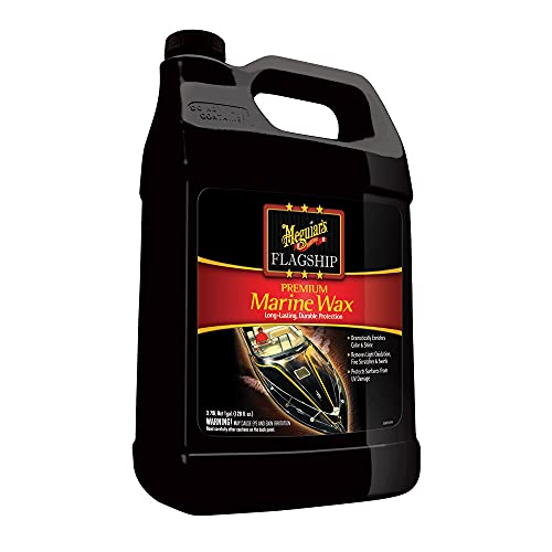 Meguiars Inc. M6301 Flagship Premium Marine Wax, Black