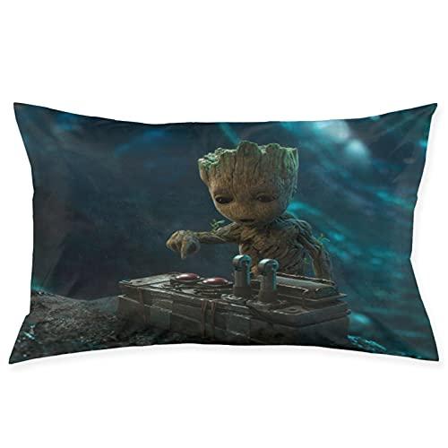 Baby Groot - Almohadas de primavera, espuma de memoria, almohada de sueño profundo, funda de tencel con muelles de bolsillo, almohada, firme, perfecto para cuello/hombros