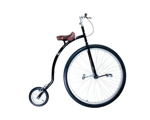 """QU-AX Hochrad Gentlemen-bike 36\"""", schwarz"""