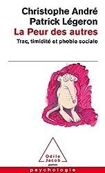 couverture du livre la peur des autres Christophe André Patrick Légeron