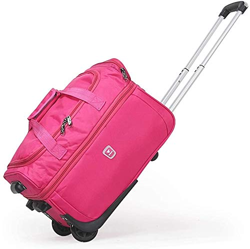 GQY Luggage - bags suitcase lightweight wheeled carry-on luggage compartment (Color : Se Leva, Size : 27)