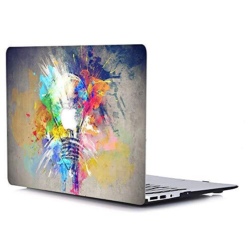"""AJYX Funda MacBook Pro 15 Pulgadas 2016/2017/2018, Carcasa Rígida de Plástico Duro Case para MacBook Pro 15,4"""" con Touch Bar & Touch ID Modelo:A1707 / A1990, CY4 Bombilla de Color"""