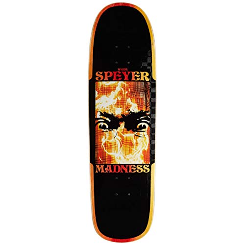 Madness Skateboarding Deck: Speyer Fire Flannel R7 9.1