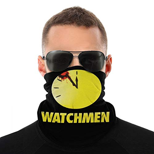 Roupaze Pasamonta?as Mascarilla Watchmen Bloody Clock Mascarilla Bandanas