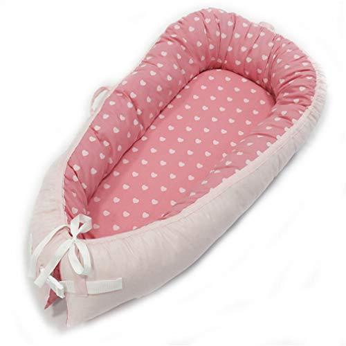 80 * 50cm baby nest bed draagbare wieg reizen bed baby peuter katoenen wieg voor pasgeboren babybed wieg bumper,B18