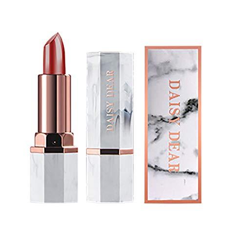 Youdong Longue durée imperméable à l'eau velours rouge à lèvres crayon cadeau couleur pour les lèvres boîte anti-adhésive matte Glossy La Baume facile à porter Lipstick