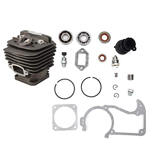 Kit de montaje de cilindro, conjunto de cilindro de motosierra, cilindro de sierra, pistón, materiales de aleación de zinc para Stihl MS360 036 PRO 034
