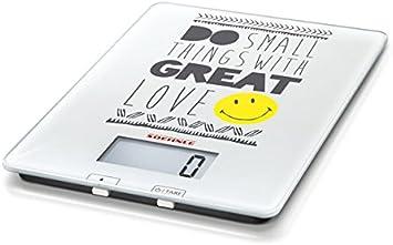 Soehnle 6883-Bascula Digital de Cocina, Smiley do Small Things, Multicolor