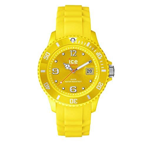 ICE-WATCH - Ice Forever Yellow, Reloj Amarillo con Correa de Silicona