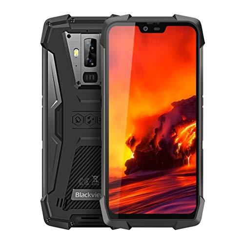 Teléfono móvil BV9700 Pro, 6 GB + 128 GB, con la visión nocturna, IP68 / IP69K impermeable a prueba de polvo a prueba de golpes, Dual Volver Cámaras, 4380mAh de la batería, Face ID y de montaje latera