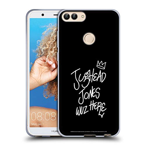Official Riverdale Jughead Wuz Here Graphic Art Soft Gel Case Compatible for Huawei P Smart/Enjoy 7S