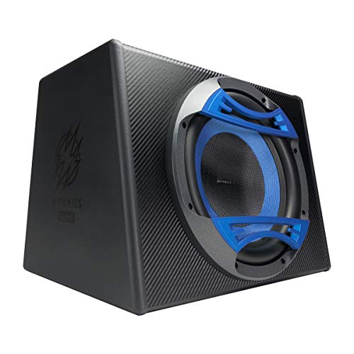 Hifonics Alpha HA112A - Powered 800 Watt, 12 Inch Subwoofer System, Glass Cone, Powerful Sound, Class D, High and Low Input