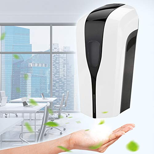 KKTECT Automatisch Elektrischer Seifenspender 1000ml für Alkohol, Automatisch Alkohol Sprühgerät mit Sensor, für Hand Desinfektion, Desinfektionsspender für Badezimmer,Hotel