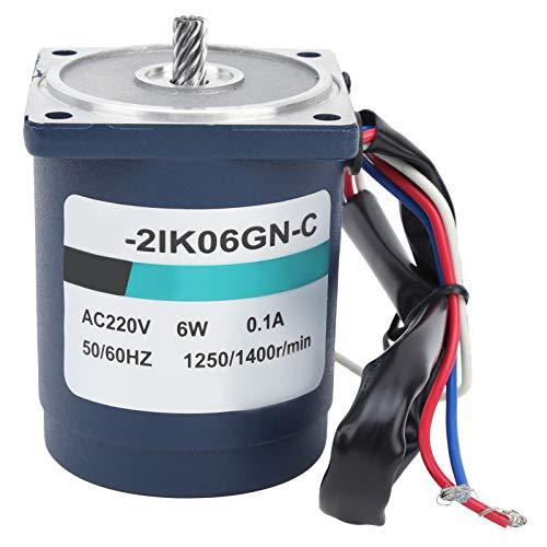 Socobeta 50/60 HZ Ajuste de Velocidad + Caja de Cambios + Controlador de Velocidad Motor Reductor Motor de Engranajes de CA Durable 100% Nuevo XD2IK06GN-C Sensible para Moter(75)