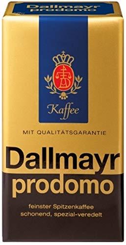 Dallmayr Kaffee PRODOMO Kaffee gemahlen 12x 500g (6 kg) - 100% Arabica Kaffee