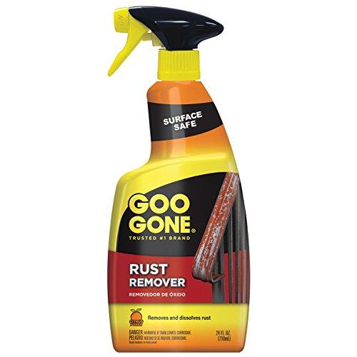 Goo Gone Rust Remover – Outdoor and Indoor Metal Rusting Remover- 24 fl oz