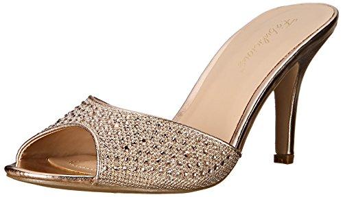 Pleaser Lucy 01, Damen Pumps, Gold (Gold Glitter Mesh Fabric), 40 EU ( 7 UK)