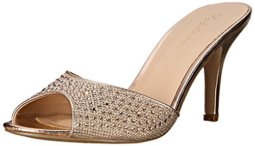 Pleaser Lucy 01, Damen Pumps, Gold (Gold Glitter Mesh Fabric), 41 EU ( 8 UK)