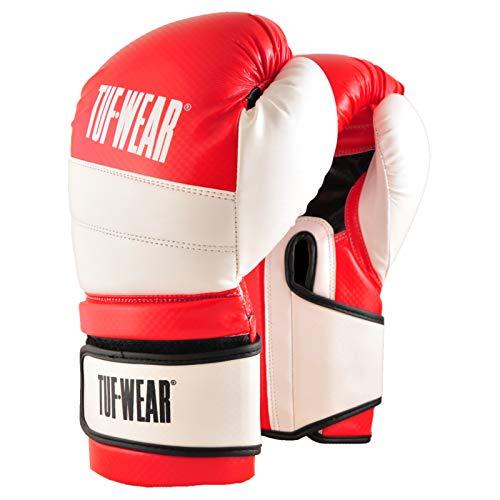 TUF WEAR Boxhandschuh Eagle Training Safety Spar Red White, rot/weiß, 453,6 g (16 oz)