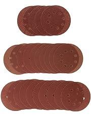 Bosch 2607019497 Slipark 80-240 Korn, Röd, 125 mm, 25 Delar