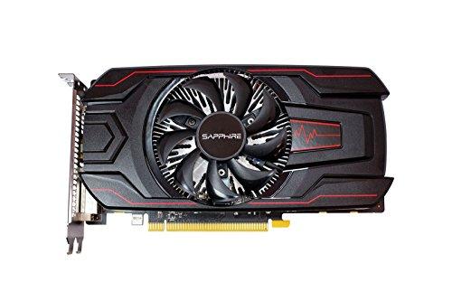 Sapphire 11267-19-20G Radeon RX 560 2GB GDDR5 - Tarjeta Gráfica (Radeon RX 560, 2 GB, GDDR5, 128 bit, 6000 MHz, 5120 x 2880 Pixeles, Negro)