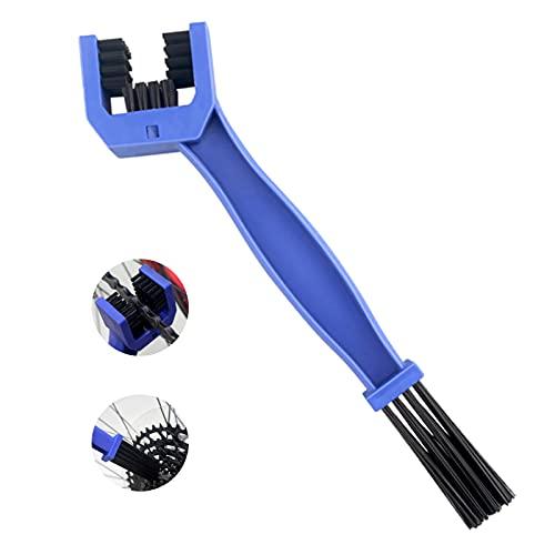 ADOGO Fahrrad Reinigungsbürste, Fahrrad-Kettenreiniger-Werkzeug, Regelmäßigen Pflege von Kette, Schaltung, Zahnkranz, Kettenreinigungsgerät Bürste für alle Arten von Fahrrad-Kette & Motorrad-Kette