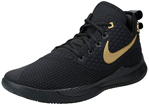 Nike Lebron Witness 3 Ao4433-003, Zapatos de Baloncesto Hombre, Negro (Black Ao4433/003), 41 EU