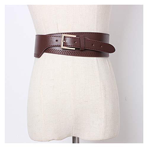 LPZW Cinturón de cinturón de cinturón Ancho de Talla Grande para Mujeres Cinturones Grandes para Mujer DISEÑADOR DE Cuero DE CUERADOR DE CUERADOR DE CUERADOR DE Ciudad DE LA Cinta Cintura