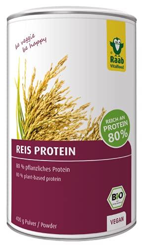 Raab Vitalfood Bio Reis-Protein Pulver Bild